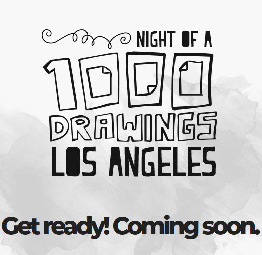 Night of a 1000 drawings coming soon